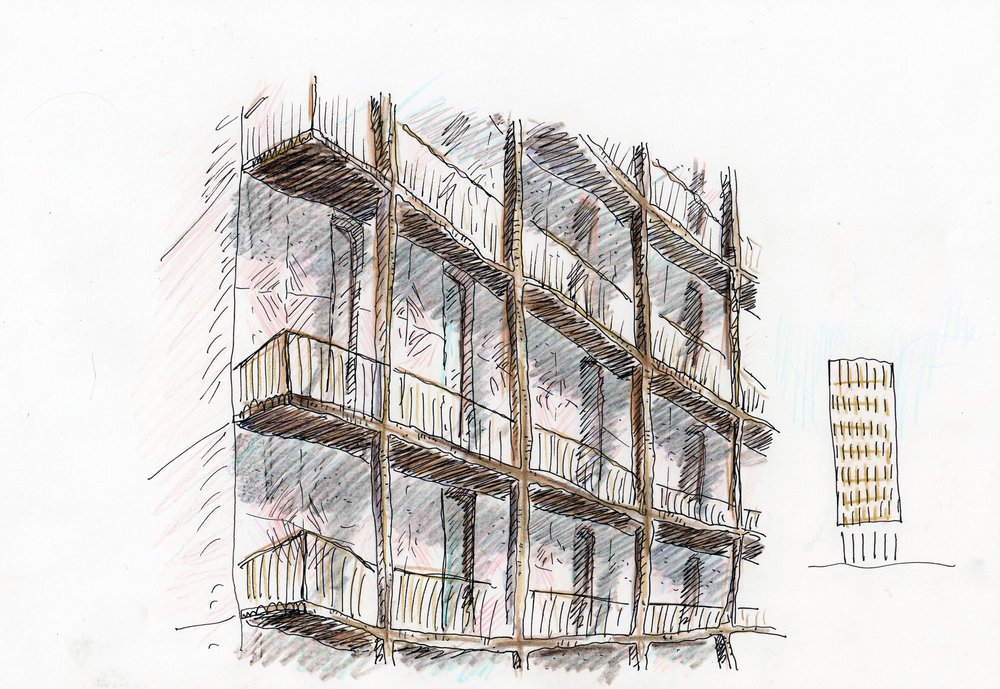 Kings_Gate_Scrapbook_SKETCH OF REAR FACADE.jpg