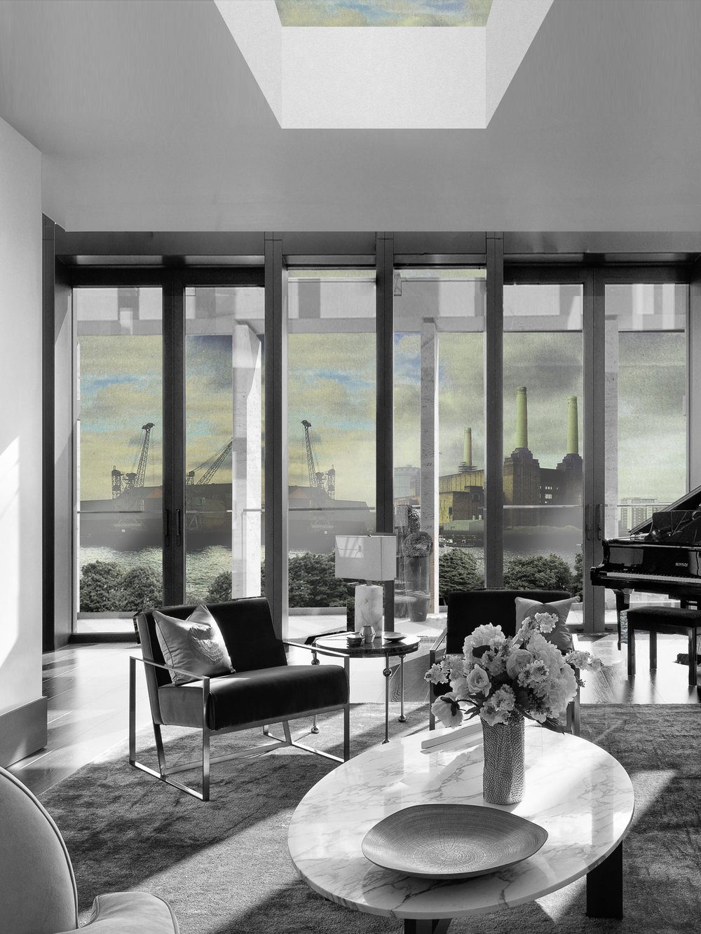 VIEW TOWARDS BATTERSEA FROM PENTHOUSE BW.jpg